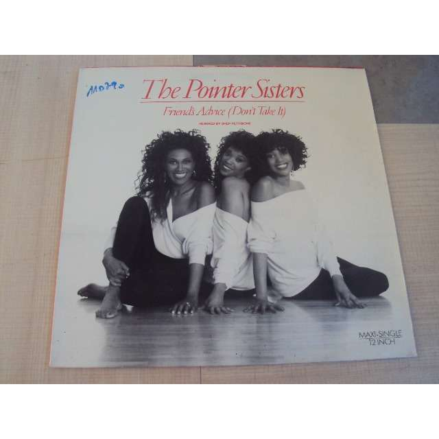 POINTER SISTERS friend's advice (4 MIXES) 1990 GERMANY (MAXIBOXLP)