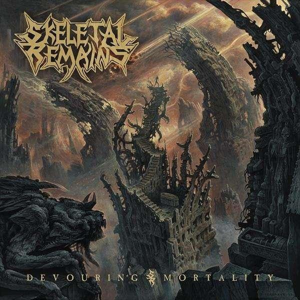SKELETAL REMAINS Devouring Mortality. Black Vinyl