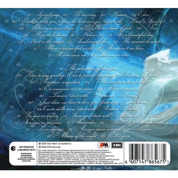 Greatest hits by Sarah Brightman, CD x 2 with techtone11