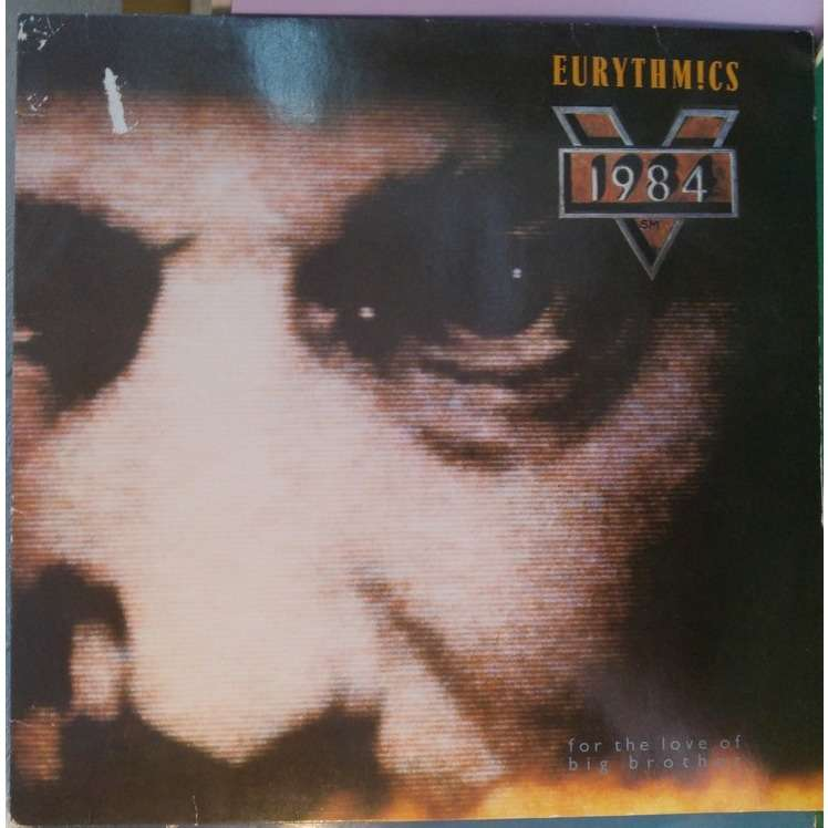 1984 For The Love Of Big Brother By Eurythmics Lp With