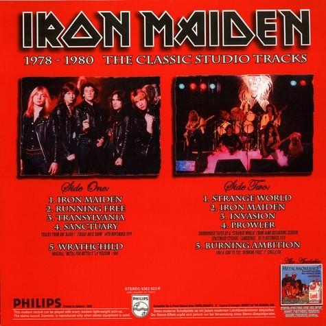 Iron Maiden Kings Of Metal - 1978-1980 The Classic Studio Tracks (lp)