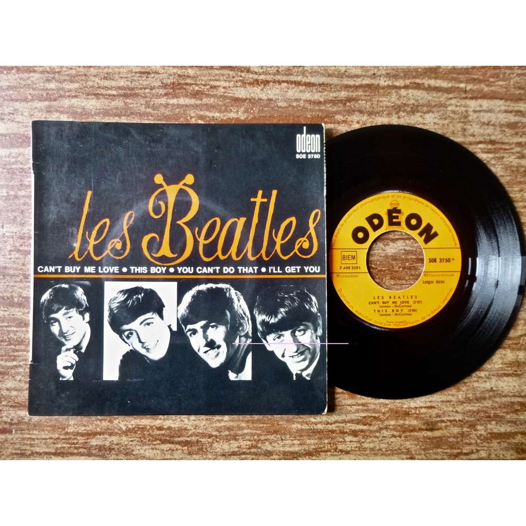 THE BEATLES CAN'T BUY ME LOVE / THIS BOY / YOU CAN'T DO THAT / I'LL GET YOU