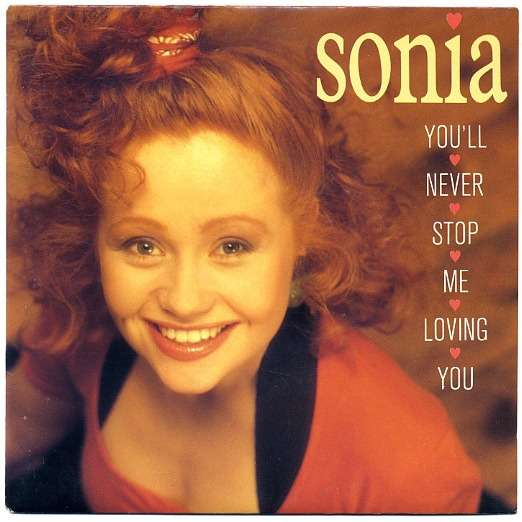 SONIA YOU' LL NEVER STOP ME LOVING YOU & INSTRUMENTAL