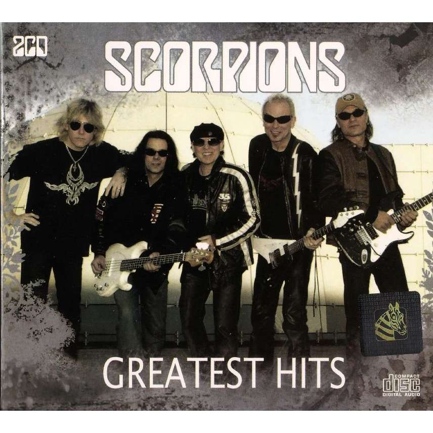 Scorpions Greatest Hits 2 CD New And Sealed Worldwide Free Shipping
