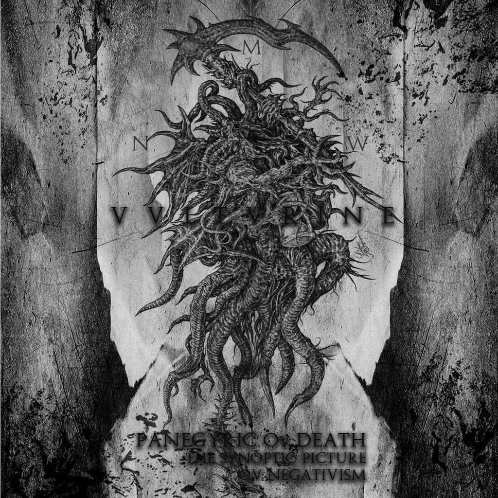 Drakkar Productions : Vulturine Panegyric of Death, the Synoptic Picture of Negativism - CD