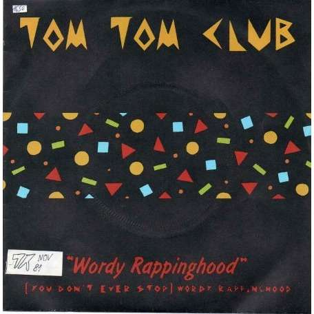 wordy rappinghood tom tom club 7 2枚 売り手 tubomix