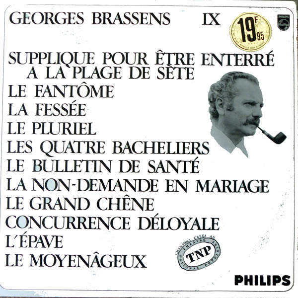 georges brassens IX