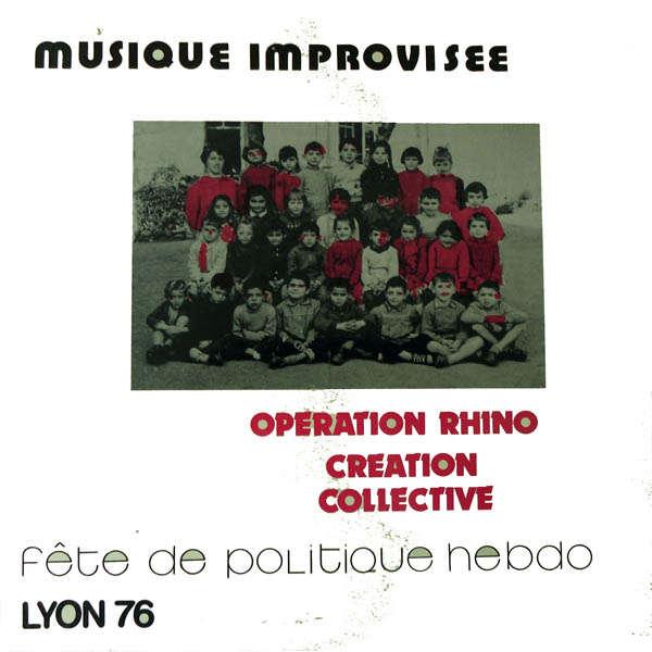 Musique Improvisée Fête de Politique hebdo 1976