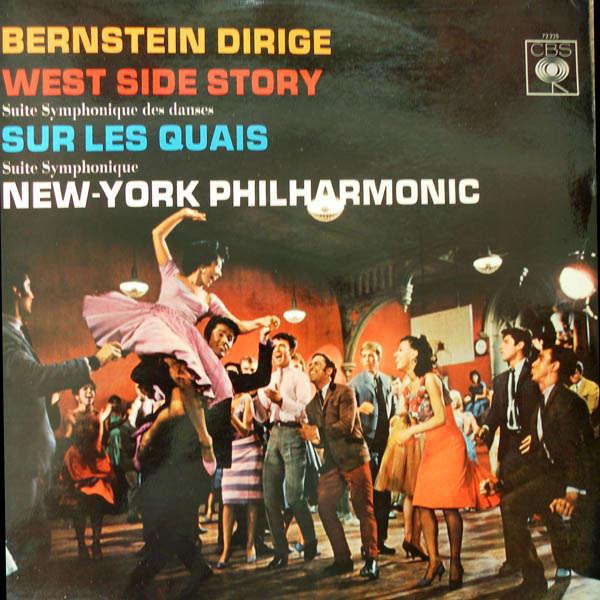 leonard bernstein dirige West Side Story