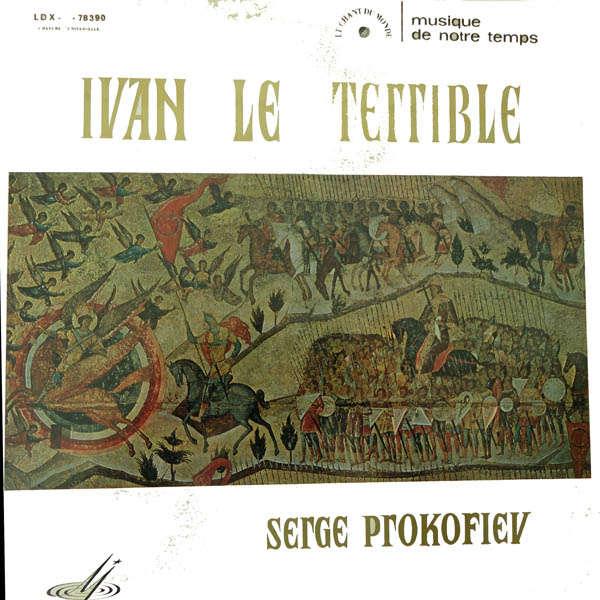 Orchestre Symphonique de l'U.R.S.S. b.o du film Ivan le Terrible