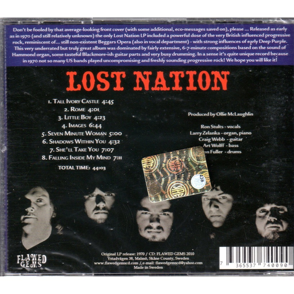Lost Nation Paradise Lost