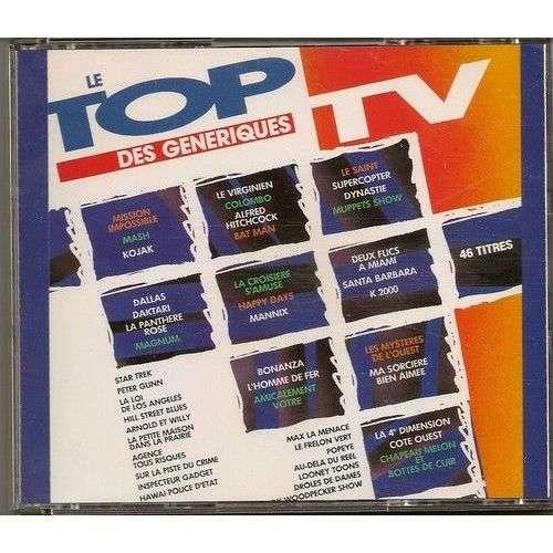divers artistes - various artist LE TOP DES GENERIQUES TV