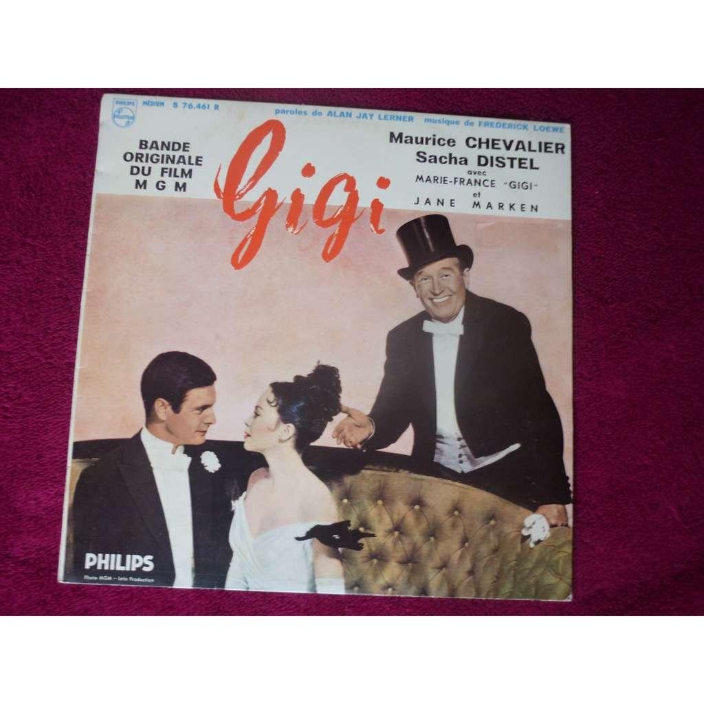Maurice Chevalier / Sacha Distel . Gigi