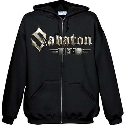 SABATON The Last Stand / Shoot to Kill ZIP HOOD