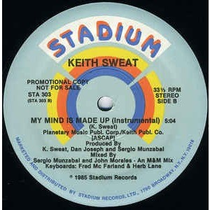 Keith Sweat - My Mind Is Made Up (12, Promo) Keith Sweat - My Mind Is Made Up (12, Promo)