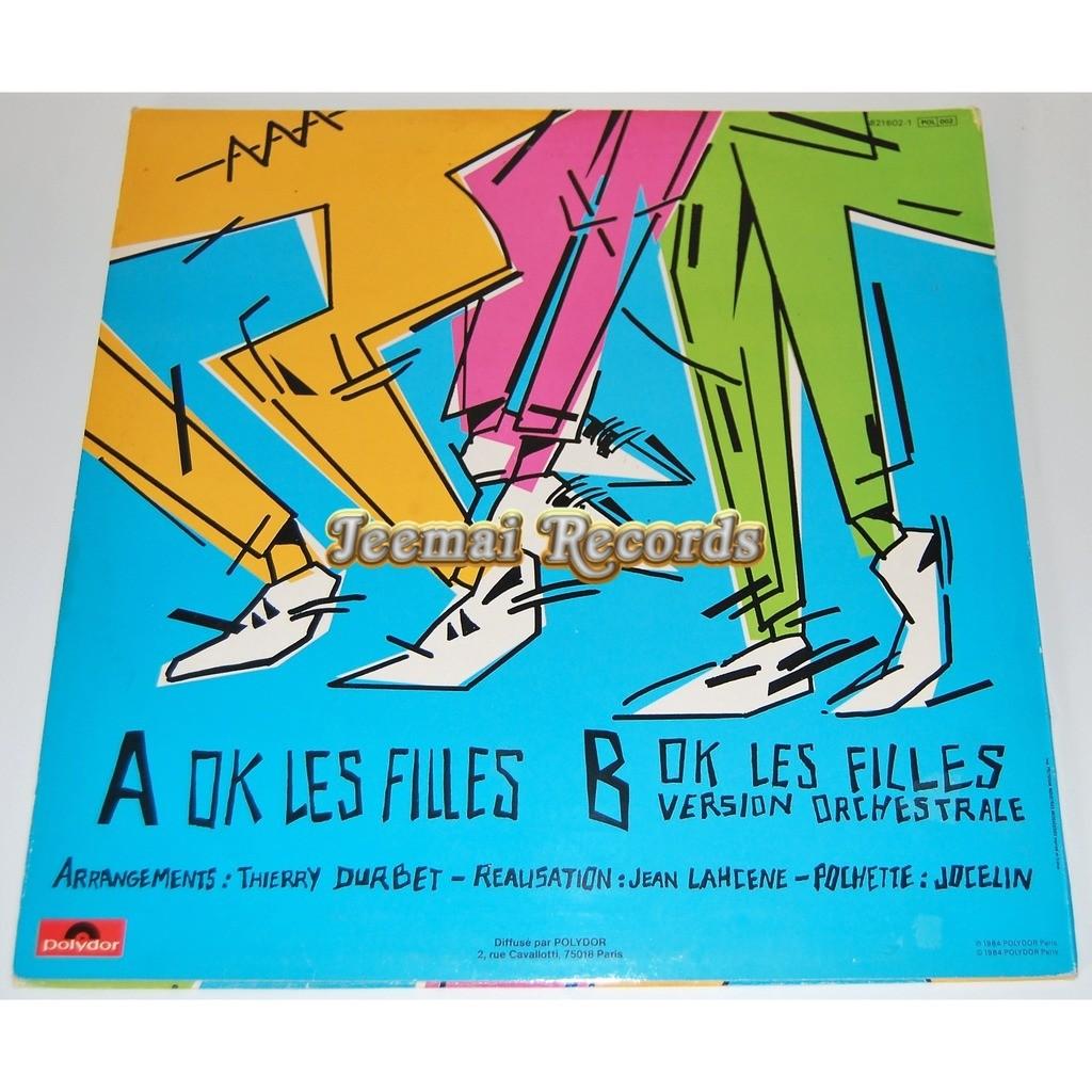 BREAKY BOP OK LES FILLES . 4' 30' .. OK LES FILLES ( VERSION ORCHESTRALE ) . 5' 00'