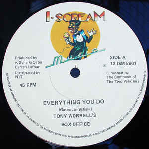 Tony Worrell's Box Office - Everything You Do / Do Tony Worrell's Box Office - Everything You Do / Don't Turn Away (12)
