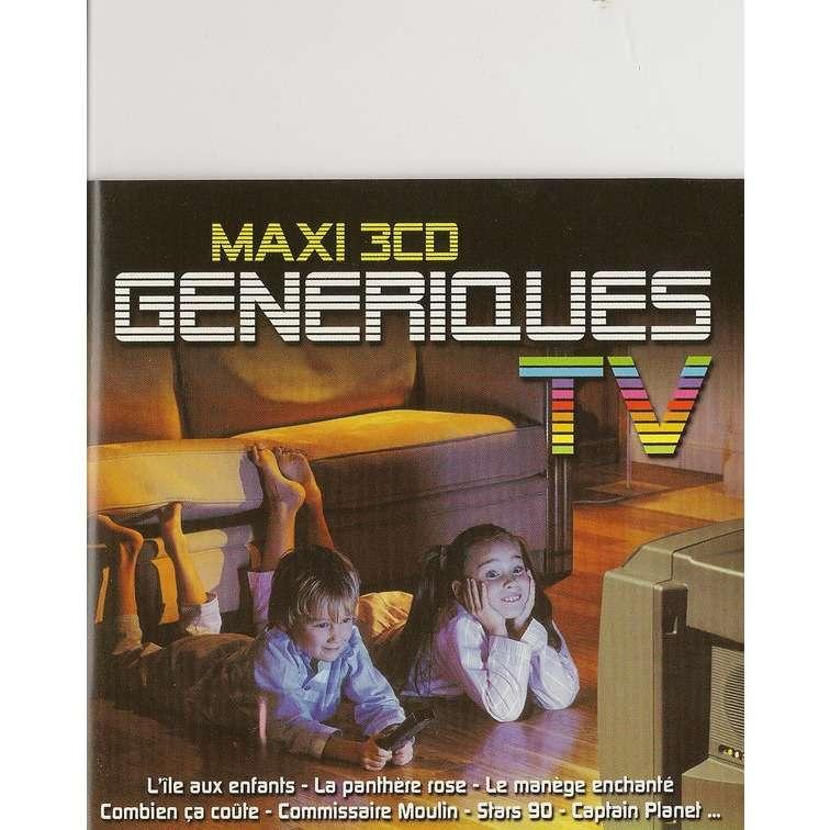 divers artistes - various artist MAXI 3 CD GENERIQUES