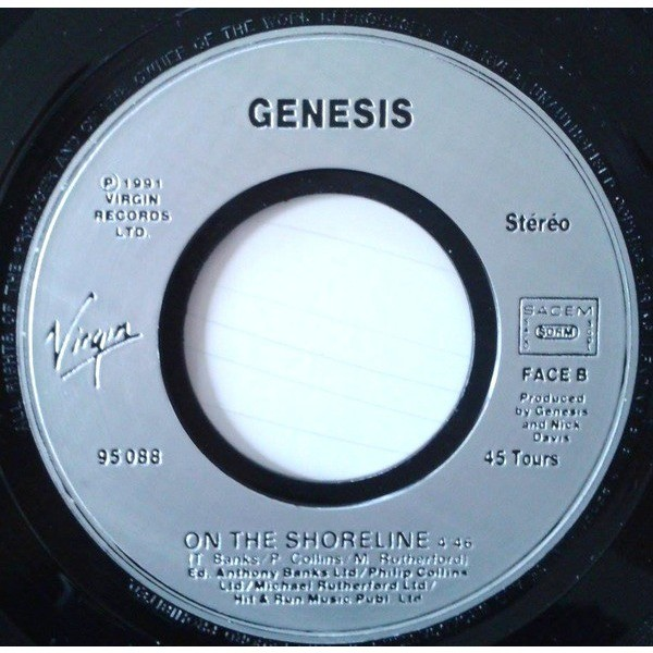 Genesis ‎ I Can't Dance / On The Shoreline