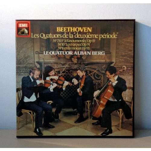 QUATUOR ALBEN BERG BEETHOVEN Les quatuors de la  deuxième periode