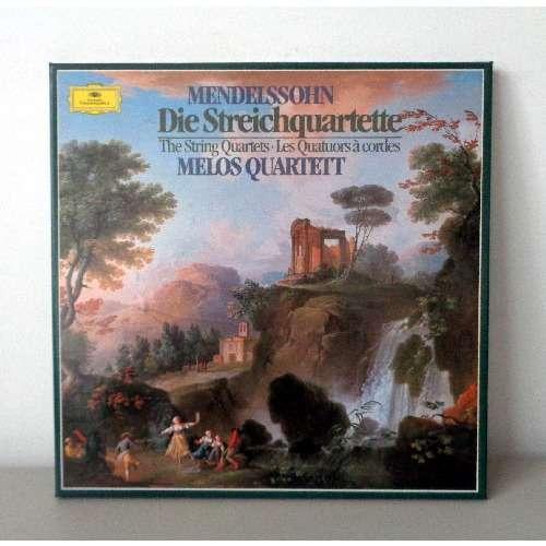 MELOS QUARTETT MENDELSSOHN The string quartets