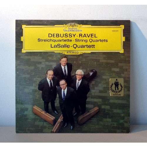 LASALLE QUARTETT DEBUSSY & RAVEL string quartets