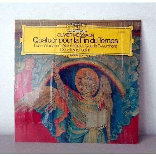 LUBEN YORDANOFF & DANIEL BARENBOIM MESSIAEN Quatuor pour la fin du temps