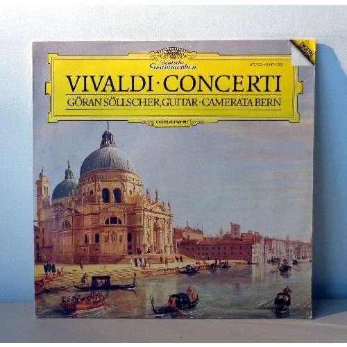 CAMERATA BERN & GORAN SOLLSCHER VIVALDI Concerti