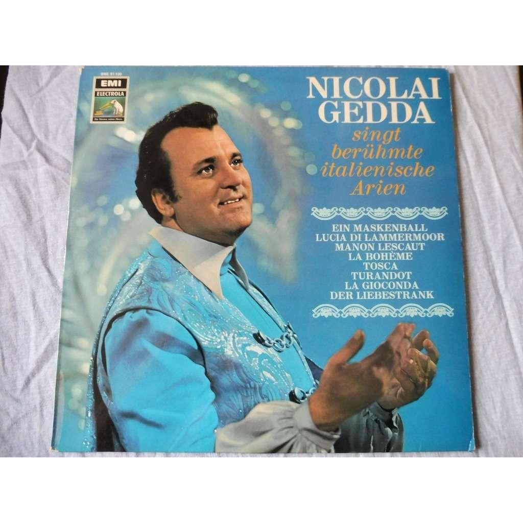 Nicolai GEDDA Berühmte Italienische Arien