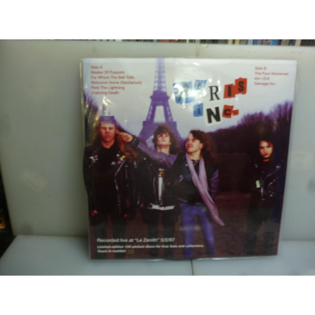 Metallica Paris Inc. Le Zenith, Paris, France 1987. EU 2015 Ltd To 100 Picture Vinyl LP.
