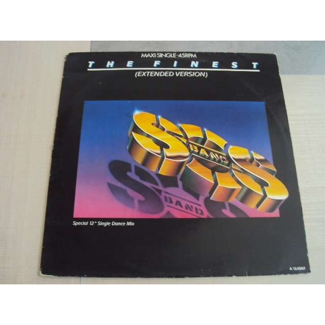 THE S.O.S. BAND THE FINEST (EXTENDED VERSION) 1986 HOLLANDE (MAXIBOXLP)