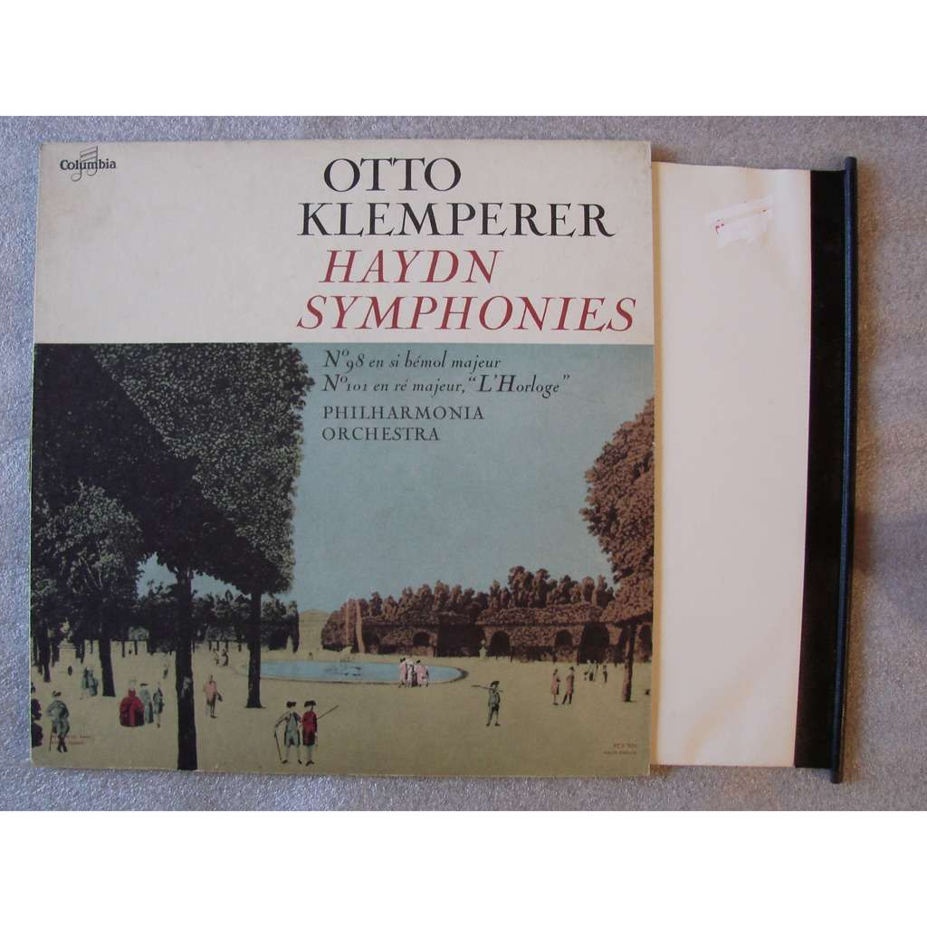 Otto Klemperer : The Philharmonia Orchestra Haydn : symphonies No 98 et 101
