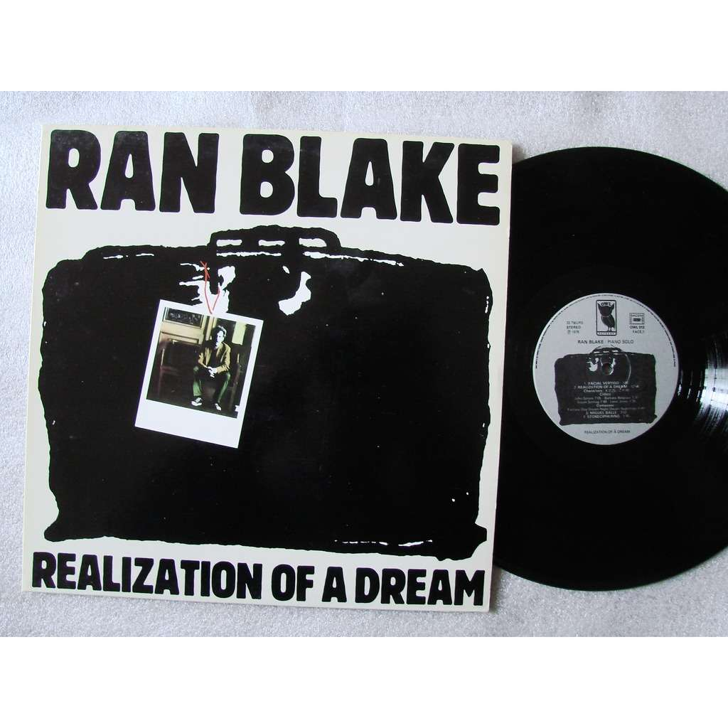 Ran Blake , piano Realization of a dream