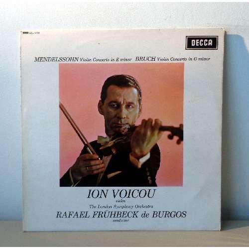 ION VOICU & RAFAEL FRUHBECK BURGOS MENDELSSOHN & BRUCH violin concertos