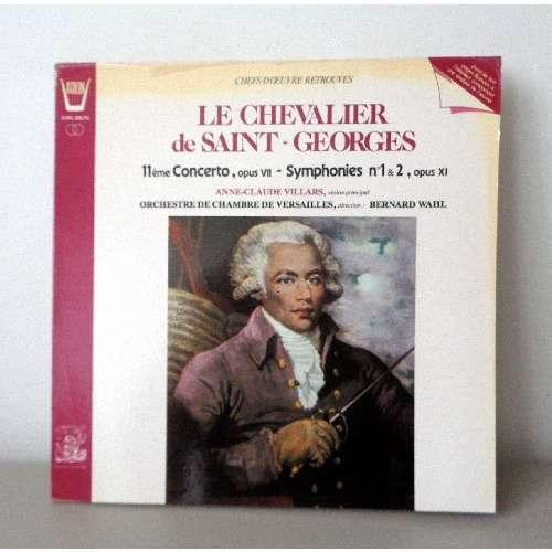 Le Chevalier De Saint Georges Concerto N11 Opus 7 Symphonies N1