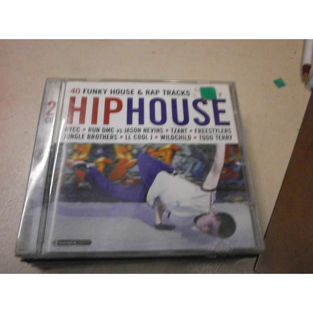 VARIOS HIP HOUSE 40 HOUSE FUNKY & RAP TRACKS