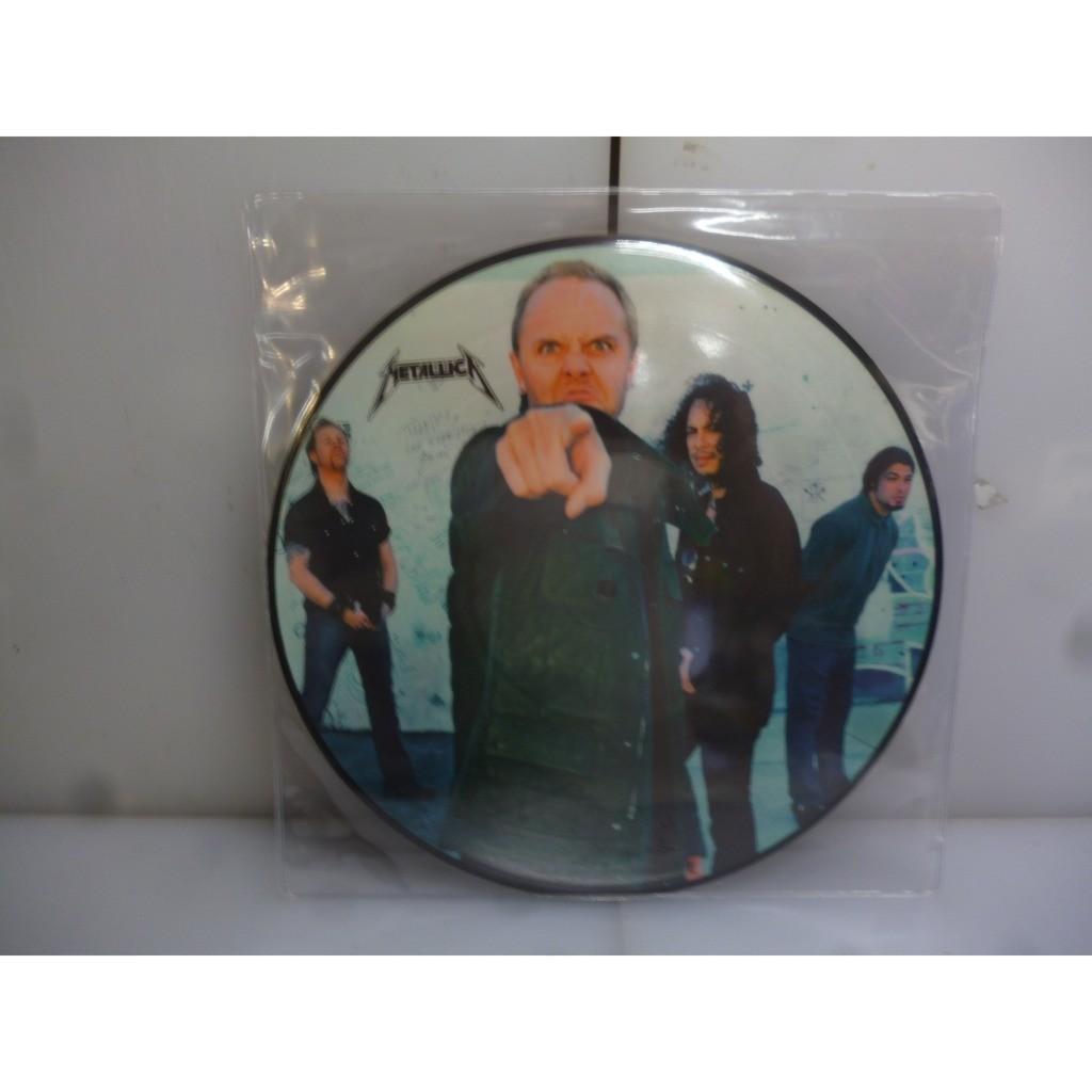 Metallica Master Of Puppets Live. Roskilde Festival, Roskilde, Denmark 2003. EU 2016 10 Inch Picture Vinyl LP.