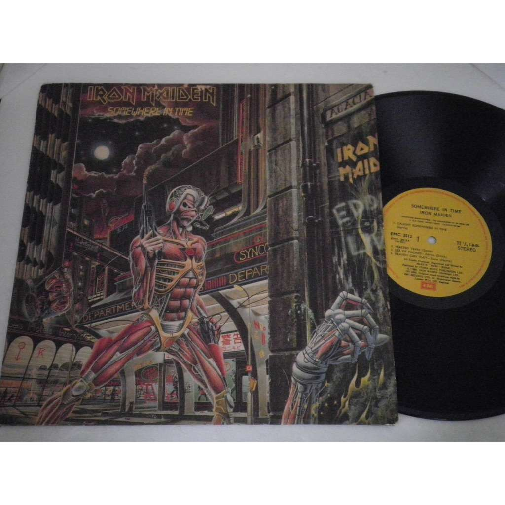 Iron Maiden ‎ Somewhere In Time