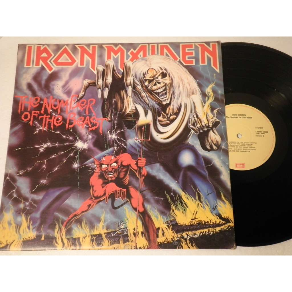 Iron Maiden ‎ The Number Of The Beast