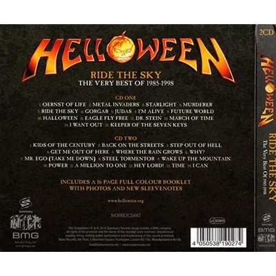 HELLOWEEN Ride the Sky - The Very Best of the Noise Years 1985-1998
