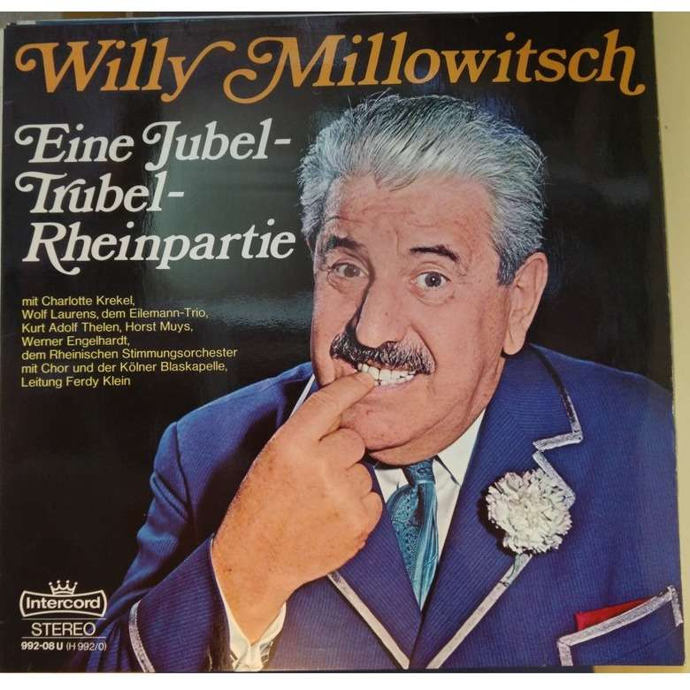 willy millowitsch eine jubel - trubel - rheinpartie
