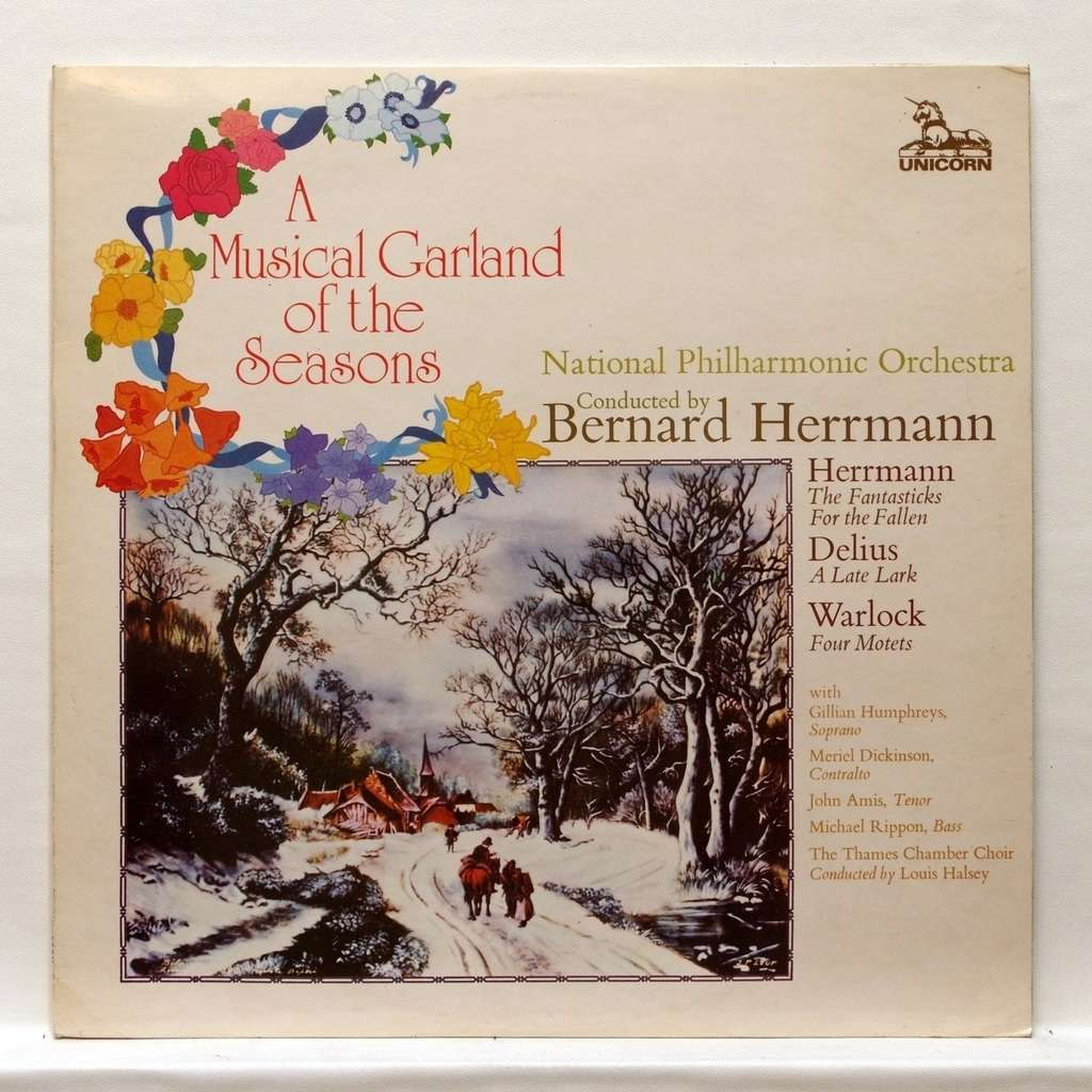 Gillian Humphreys, Meriel Dickinson, John Amis A Musical Garland of the seasons - Herrmann, Delius
