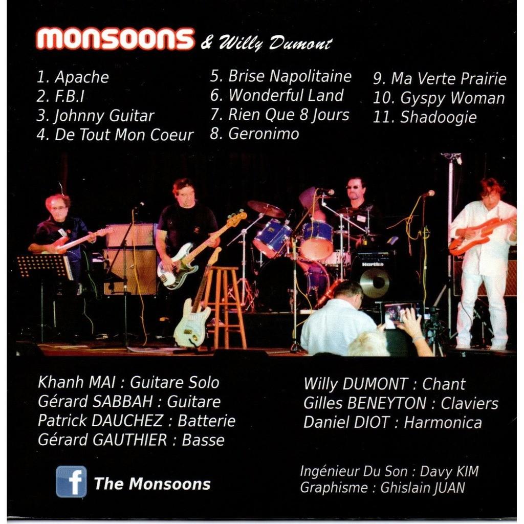 Les Monsoons & Willy Dumont Hommage à Cliff Richard et aux Shadows