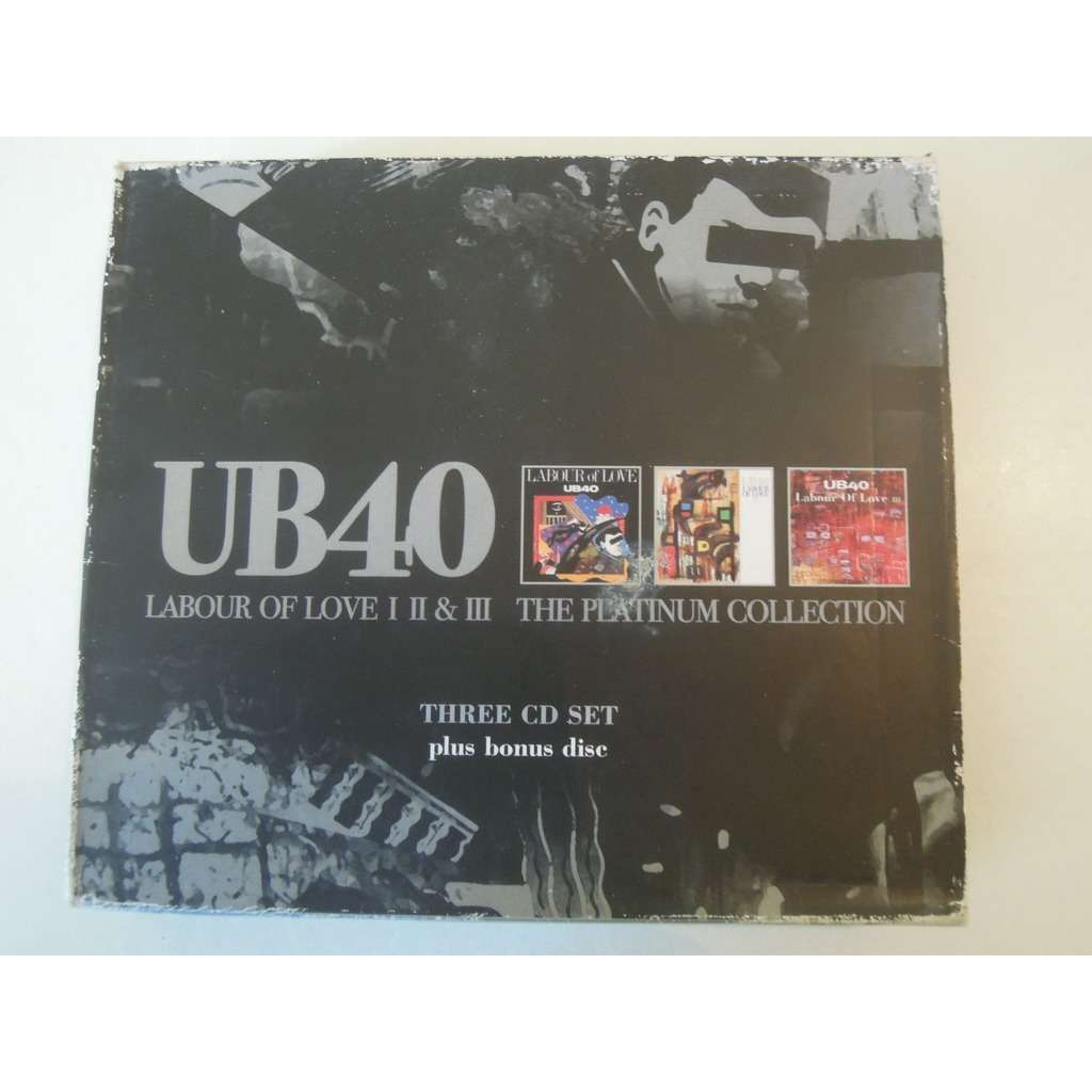 Ub40 Labour of love 1,2 and 3 - the platinum collection