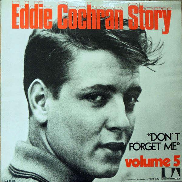 eddie cochran Don't forget me