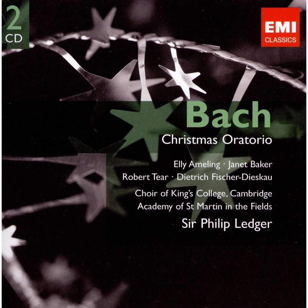 Christmas oratorio / academy of st. martin-in-the-fields, king\'s ...