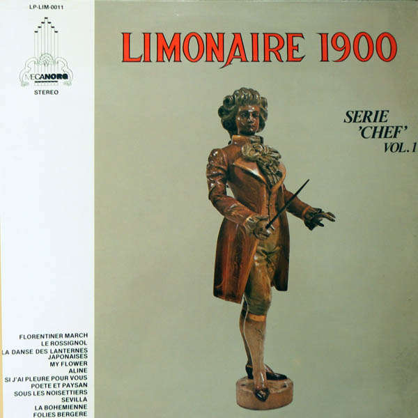 Orgue Limonaire 1900 Série Chef Volume 1
