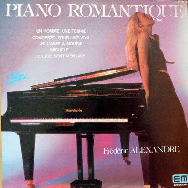 Frédéric Alexandre Piano romantique