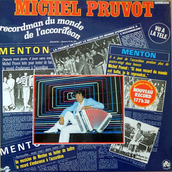 Michel Pruvot Recordman du monde de l'accordéon
