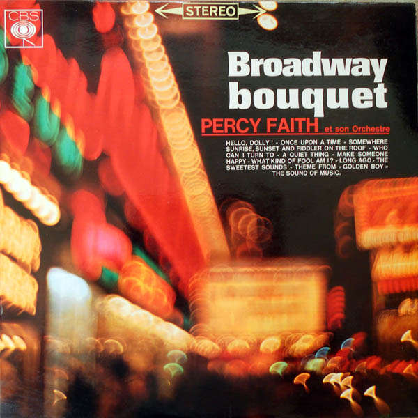 percy faith and his orchestra Broadway Bouquet